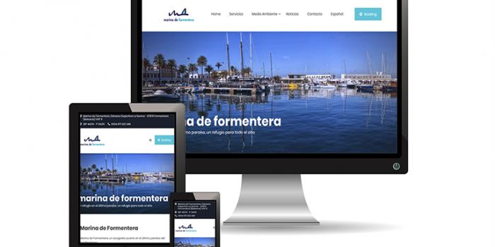 Marina de Formentera actualiza su web
