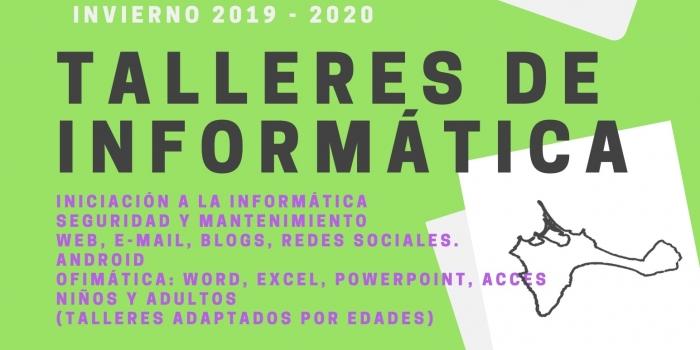 TALLERES DE INFORMÁTICA 2019 / 2020